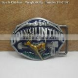 Cross belt buckle with Rhinestones Low Price Plate Metal Buckle 40mm Zinc Alloy Belt Buckle