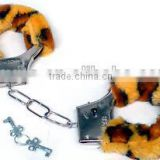 Party night funny plush metal handcuff toy wholesale sex toy HK2007