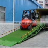 Hot sell 8tons trailer truck steel mobile container load ramp yard ramps price