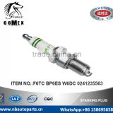 High Quality Auto Spark Plug F6TC BP6ES W6DC 0241235563 for ALFA ROMEO ARMSTRONG SIDDELEY ASTON MARTIN AUSTIN .etc.
