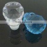 2013 Lastest design factory direct transprent acrylic wine bottle stopper