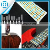 stickers for guitar trainer,Guitar Fretboard Note Decals Fingerboard Frets Map Sticker for Beginner Learner