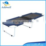 Outdoor portable metal folding beach bed