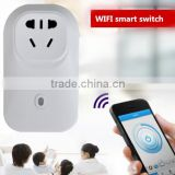 Smart Wifi Plug Remote and Timing Control Socket to Turn On/Off Electronics From Anywhere With Free App on iOS and Android