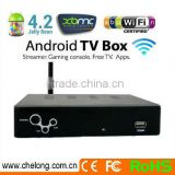 IPTV with ANDROID DVB-S2 (MPEG4) DVB-T2 LNB1 & LNB2 with built-in diseqc switch