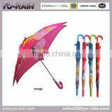 2015 promotional unique square child umbrella wholesale cheap price auto open kids umbrella