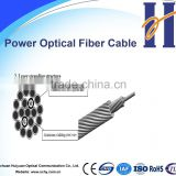 Factory supply electric power optical fiber cable-OPGW 12F,24F,48F G652D optic fiber cable