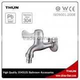 THUN Modern big discount washing machine steel bib tap
