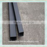 Best strength caron fiber rectangular tube, rectangular pipe tube