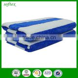 china promotional stripe colors and Dobby Style terry velour beach towels                                                                                                         Supplier's Choice