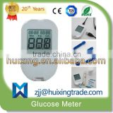 2015 new design High Quality Big Screen Digital blood glucose meter With PC-link USB Cable / Precise silver strips/                                                                         Quality Choice