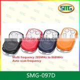 SMG-097D Universal Rolling and Fixed Code, Multi Frequency, Multi Brand Remote Control