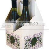 high quality low price Wine carton pack box, wine gift box, paper box, counter top display