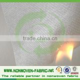 Hot polypropylene non-woven fabric of fire retardant,nonwoven fabric for airline headrest cover