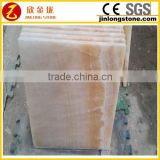 Factory supply directly yellow onyx marble
