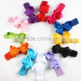 Baby girl big bows hair accessories Infant baby headband Elastic hair bands Hair bows Baby girl headband