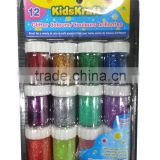 Washable glitter glue ,classic rainbow and glitter colors for kids art decoration