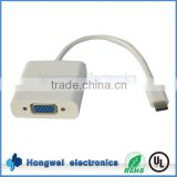 Hot sale VGA to mac USB adapter Type C to VGA female adapter for 1080P TV box / DVD / PC