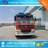 HOWO 6*4 Airport fire truck with pump Foam fire truck Dry power fire truck multifunctional fire truck for sale