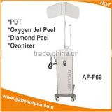Oxygen Jet Peel And Pdt Cleaning Skin Beauty Machine With Diamond Peeling 4in1 Oxygen Skin Treatment Machine