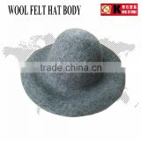 kingstone wool felt hat body made of 100% merino wool CAPPELINES