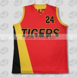 red basketball jersey red color, new custom basketball jersey design