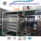 Mobile High Pressure Argon Gas Cylinder Filling Station Skid-Mounted