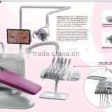 upholster chair dental chair with LCD intral oral camera display screen humane dental equipment