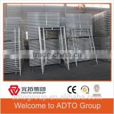 Factory supply Heavy loading shoring scaffold Door Type Frame, H type frame, A type frame,ladder Type frame