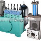 china supplier double hydraulic gear pump for extruder
