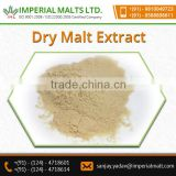 Dry Malt Extract Is Sweet, Pale Yellow To Yellow In Colour, Slightly Acidic, Highly Hygroscopic