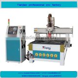 shandong jinan professional wood cnc router with Linear atc 8tools and vacuum pump