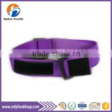 Hook and loop cable tie, nylon hook and loop cable tie, high quality hook and loop cable tie