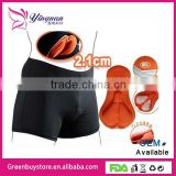 2014 New Sports Black Style Cycling Underwear Gel 3D Padded Bike/Bicycle Shorts M-3XL Outdoor