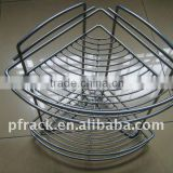 Bathroom kitchen metal storage rack P-1319