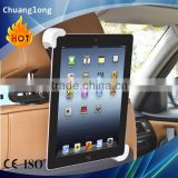 Diagonal Design 360 degree car back seat headrest mount holder for ipad mini/1/2/3/4/air galaxy tablet