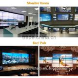 55 Inch LCD video wall Samsung/LG brand super narrow bezel monitor display for live broadcast