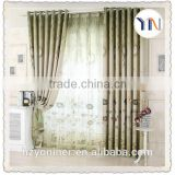 100% Polyester Woven stocklot curtain fabric, home ideal design curtain, flame retardant China textile manufacturer