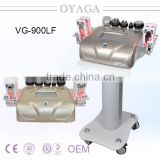 Diode laser+ multipolar rf+ vacuum suction+ 40KHz cavitation multifunction beauty machine VG-900LF