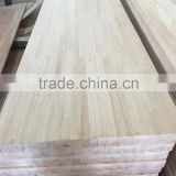 Rubber wood finger joint panel for stairs treads/rubber squares for window scantlings