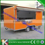 mobile coffee food truck for sale from China manufacturer