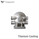 titanium casting parts Pump casing Grade C2