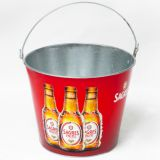 sedex factory galvanized tin ice bucket beer bucket