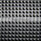 Anti-static pyramid pattern rubber flooring mats