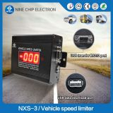 GPS and GPRS heavy truck / bus speed control device