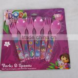 Baby cutlery set/baby spoon& fork for sale