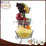 Professional manufacture factory supply 3 tier fruit basket stand