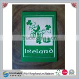 Wooden POSTCARD Invitation card DANCING SHOES Eire Gift Ireland Irish