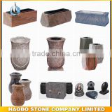 Granite vase /chinese vases/cheap vases/is ash urn/black vase/ cemetery lamp/vases/cremation ash urn/headstone vases wholesale