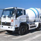 hot sale left hand drive 3 cubic meter mini truck concrete mixer